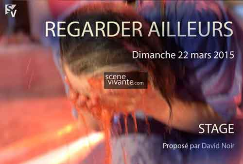 Stage Scène Vivante - Regarder ailleurs